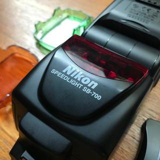 ニコン(Nikon)のニコン スピードライト SB−700  Nikon SB-700 【美品】(ストロボ/照明)