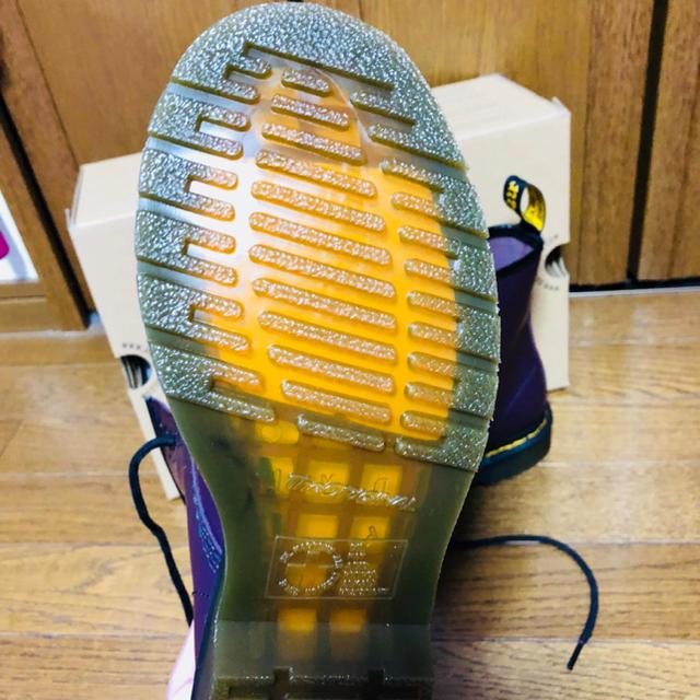 Dr.Martens(ドクターマーチン)のドクターマーチン 8ホール UK4 パープル レディースの靴/シューズ(ブーツ)の商品写真