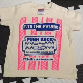シックスシックスシックス(666)のVORTEXオリジナル!INTO THE FUTURE Tee ナチュラル(Tシャツ/カットソー)