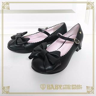 ベイビーザスターズシャインブライト(BABY,THE STARS SHINE BRIGHT)のリルリボンワンストラップシューズ(ローファー/革靴)