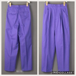 ビューティアンドユースユナイテッドアローズ(BEAUTY&YOUTH UNITED ARROWS)の6(ROKU)TUCK PANTS/パンツ 34 新品未使用(その他)