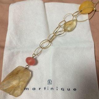マルティニークルコント(martinique Le Conte)の☆値下げ☆天然石ネックレス(ネックレス)