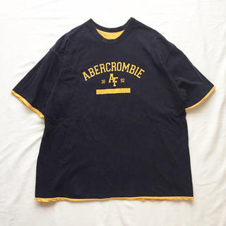 アバクロンビーアンドフィッチ(Abercrombie&Fitch)の1990's~ USA製 アバクロンビー&フィッチ リバーシブル 半袖Tシャツ(Tシャツ(半袖/袖なし))
