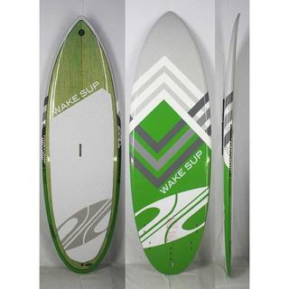 """BOARDWORKS [Green] 7'6"""" WAKE SUP フィン付き(サーフィン)"""
