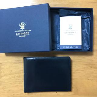 エッティンガー(ETTINGER)のエッティンガー 二つ折り財布(折り財布)