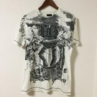 エナジー(ENERGIE)のENERGIE GOLD エナジー ゴールド Tシャツ  白 ホワイト (Tシャツ/カットソー(半袖/袖なし))