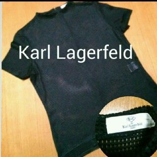 カールラガーフェルド(Karl Lagerfeld)のカールラガーフェルド👿メッシュ(Tシャツ(半袖/袖なし))