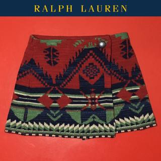 ポロラルフローレン(POLO RALPH LAUREN)のRALPH LAUREN スカート ネイティブ ラルフローレン コンチョ ナバホ(スカート)