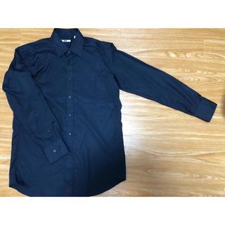ユニクロ(UNIQLO)のUNIQLO ユニクロ シャツ カットソー トップス 長袖 メンズ(Tシャツ/カットソー(七分/長袖))