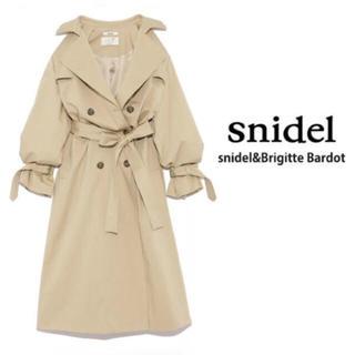 スナイデル(snidel)のBrigitte Bardot.トレンチコート snidel(トレンチコート)