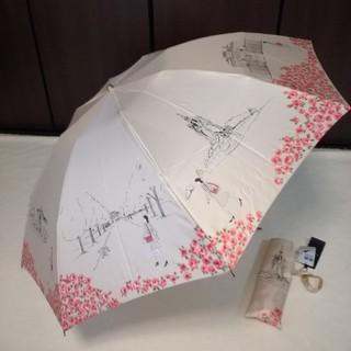アクアスキュータム(AQUA SCUTUM)の新品アクアスキュータム イギリス風景 折り畳み傘(傘)