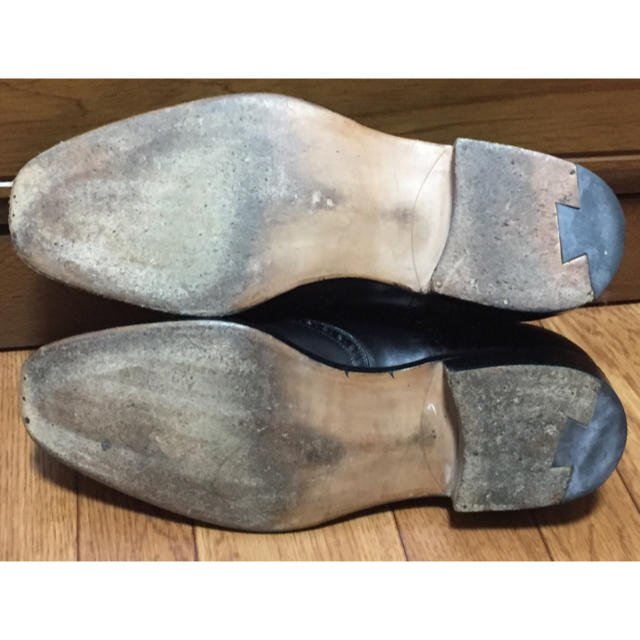 SILVANO LATTANZI(シルバノランタンジ)のシルバノラッタンジ ジンターラ ブラック 黒 ジョンロブ オールデン コードバン メンズの靴/シューズ(ドレス/ビジネス)の商品写真