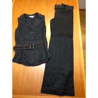 ザラ(ZARA)のM サイズ ザラ セットアップ ズボン シャツ(セット/コーデ)
