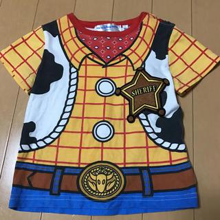 ディズニー(Disney)の東京ディズニーリゾート ウッディのコスプレTシャツ 90cm なりきり コス(衣装)