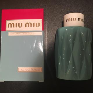 ミュウミュウ(miumiu)のmiu miu ボディーローション(ボディローション/ミルク)