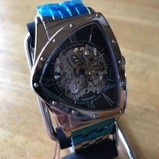 コグ(COGU)の新品✨コグ COGU フルスケルトン 自動巻き 腕時計 BS0TM-BK(腕時計(アナログ))