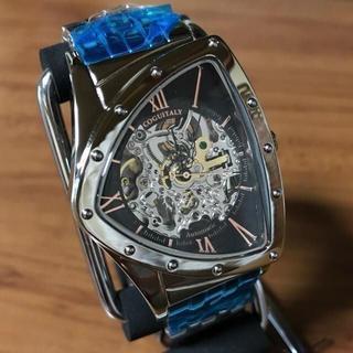 コグ(COGU)の新品✨コグ COGU スケルトン 自動巻き 腕時計 BS0TM-BRG(腕時計(アナログ))