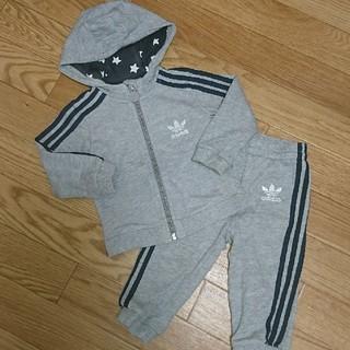 アディダス(adidas)の美品 レア アディダス ベビー ジャージ セットアップ(Tシャツ)