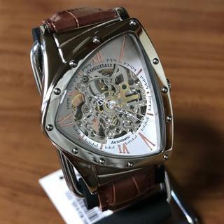 コグ(COGU)の新品✨コグ COGU フルスケルトン 自動巻き 腕時計 BS00T-WRG(腕時計(アナログ))