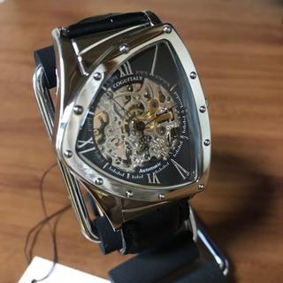コグ(COGU)の新品✨コグ COGU フルスケルトン 自動巻き 腕時計 BS00T-BK(腕時計(アナログ))
