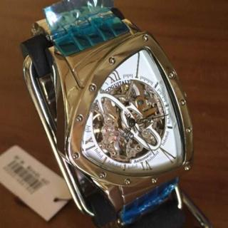 コグ(COGU)の新品 コグ COGU フルスケルトン 自動巻き 腕時計 BNT-WH(腕時計(アナログ))