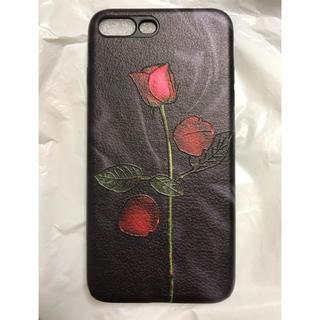iPhone ケース 7plus 8plus 薔薇 バラ