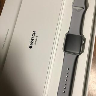 アップルウォッチ(Apple Watch)のApple Watch Series 3 38ミリ(腕時計(デジタル))