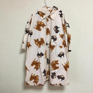 カールヘルム(Karl Helmut)の90's Karl Helmut dog pattern shirt(シャツ)