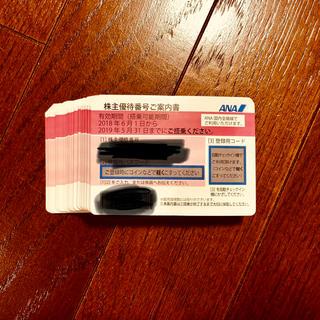 エーエヌエー(ゼンニッポンクウユ)(ANA(全日本空輸))の最新ANA(全日空)株主優待券 46枚(航空券)