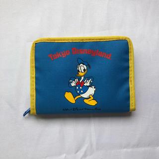 ディズニー(Disney)の●東京ディズニーランド 折財布 ドナルドダック ヴィンテージ(財布)