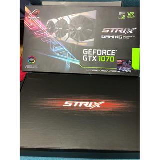 エイスース(ASUS)の週末限定 GeForce ROG STRIX-GTX1070-8G-GAMING(PCパーツ)