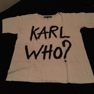 カールラガーフェルド(Karl Lagerfeld)のカールラガーフェルト Tシャツ(Tシャツ(半袖/袖なし))