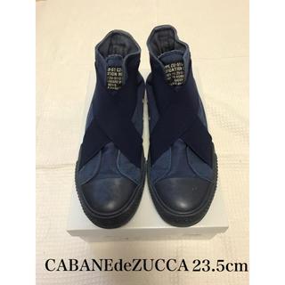 CABANE de ZUCCa - ズッカ ベルトスニーカー M 23 23.5 靴 シューズ