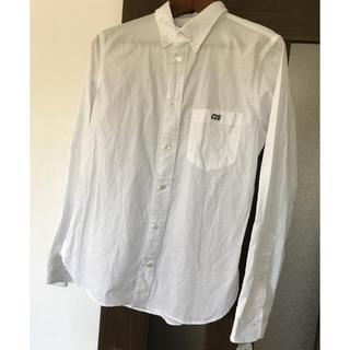 カバンドズッカ(CABANE de ZUCCa)のzucca!新品白シャツ!定価16000円!サイズS(シャツ)