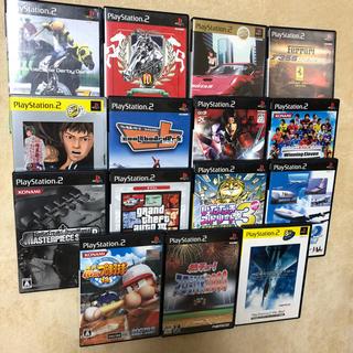 プレイステーション2(PlayStation2)のプレステ2ソフト☆15枚まとめ売り!(家庭用ゲームソフト)