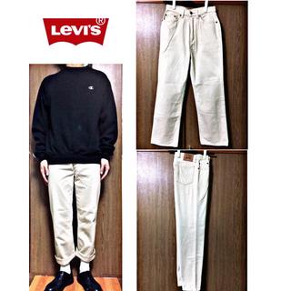 リーバイス(Levi's)のLevi's リーバイス チノパン  ストレートベージュ&Hanes Tシャツ(チノパン)
