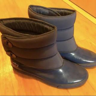 ラコステ(LACOSTE)のラコステ レイン ショート ブーツ 24(レインブーツ/長靴)