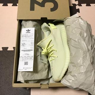 アディダス(adidas)の送料込27.0 adidas yeezy boost 350 V2 butter(スニーカー)