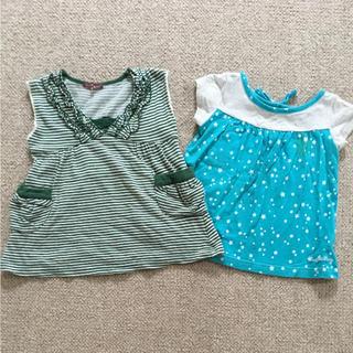 スタジオミニ(STUDIO MINI)のブランド服2点セット 可愛いチュニック  80㎝(シャツ/カットソー)