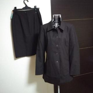 e2a5fc7a7f7f4 の美品☆アニエスベー agnes b スカートスーツ ダークグレー