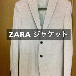 ザラ(ZARA)の【30000円で購入】ZARA 鹿の子メンズジャケット(テーラードジャケット)