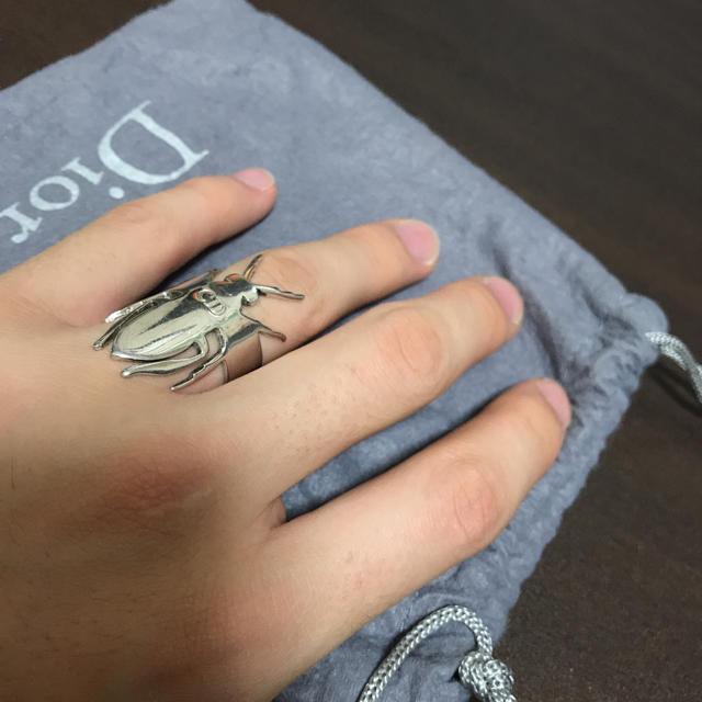 DIOR HOMME(ディオールオム)のタクタク様専用 ディオール オム Bee リング メンズのアクセサリー(リング(指輪))の商品写真