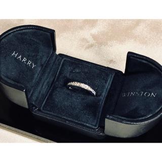 ハリーウィンストン(HARRY WINSTON)のハリーウィンストン フルダイヤモンド リング 7号(リング(指輪))