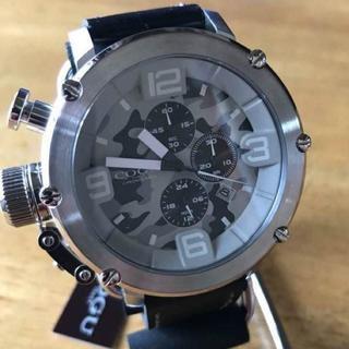 コグ(COGU)の新品✨コグ COGU クオーツ クロノ メンズ 腕時計 C61-CGY グレー(腕時計(アナログ))