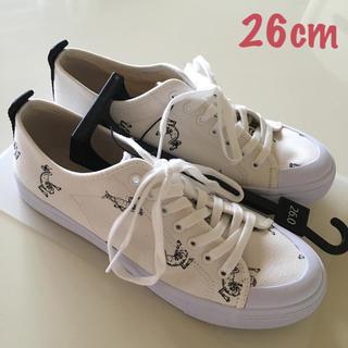 ジーユー(GU)の新品 GU gu ❤️ ジーユー KIM  JONES スニーカー 靴(スニーカー)