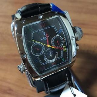 コグ(COGU)の新品✨コグ COGU 自動巻き メンズ 腕時計 C62-BCL ブラック(腕時計(アナログ))