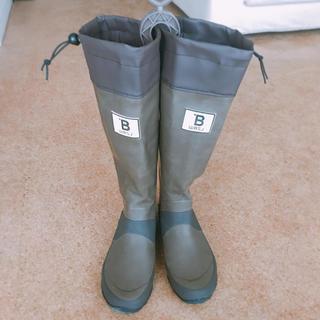 ハンター(HUNTER)の日本野鳥の会 レインブーツ 長靴 ブラウン(レインブーツ/長靴)