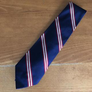 ポロラルフローレン(POLO RALPH LAUREN)のポロ ラルフローレン ネクタイ 定番ストライプ 紺赤白(ネクタイ)