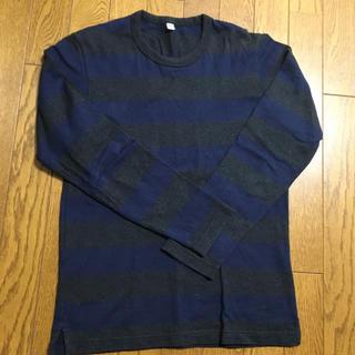 ユニクロ(UNIQLO)のユニクロ ボーダーシャツ(Tシャツ/カットソー(七分/長袖))