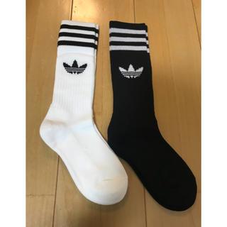 アディダス(adidas)の★新品★アディダス★靴下★24-26★2足セット(ソックス)